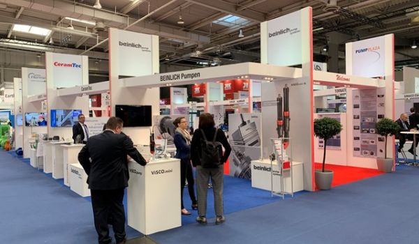 Hannover Messe 2019: Beinlich Pumpen presented whole product portfolio at the world's leading exhibition